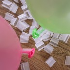 Balloon clips (50pcs / bag) 1.4x1.3 cm