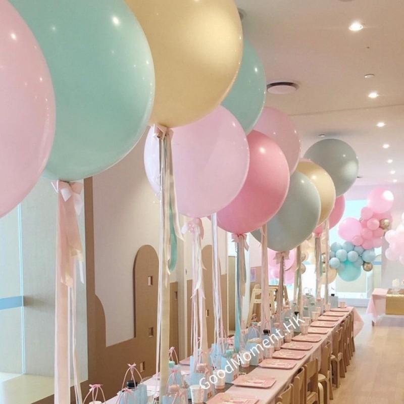 "36"" latex balloon (marcaron & solid colour)"