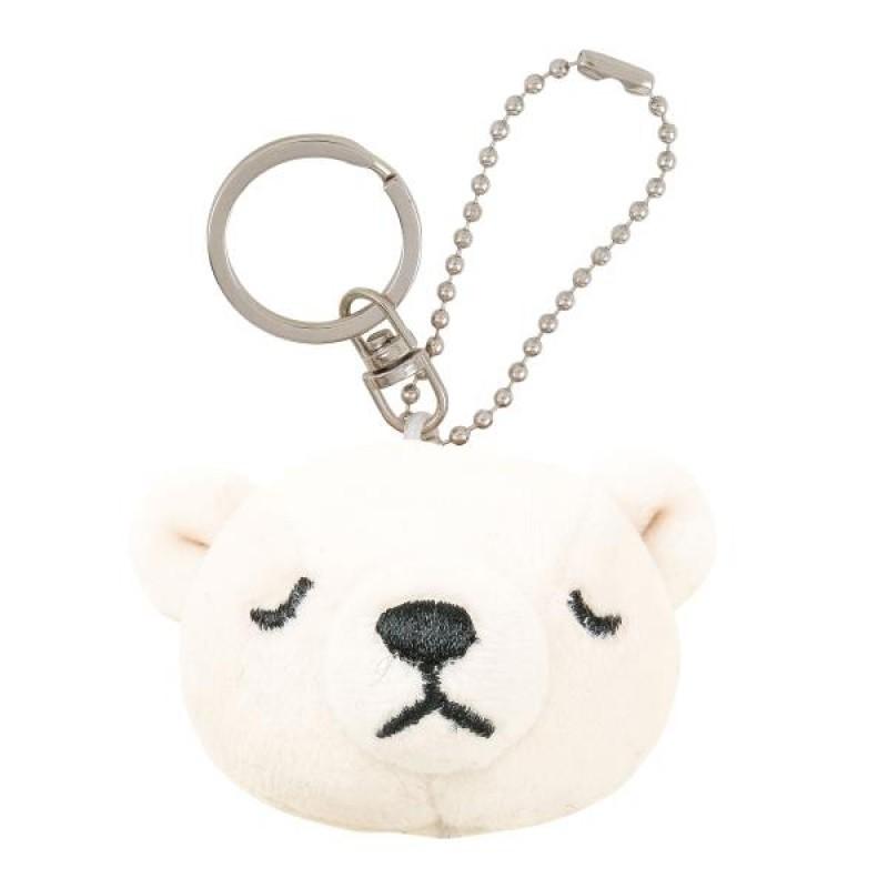 nemu nemu Polar Bear Keychain