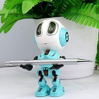 Alloy Smart Robot with Touch Reaction 6x5x12cm