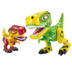 Alloy Dinosaur with Sound & Light 14x7.5x16cm