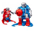 Smart Remote Control Soccer Robot 7x12x7cm (2 robot) with Carpet