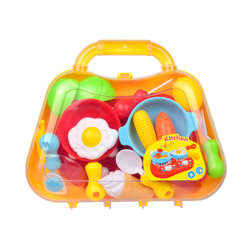 Kids Cooking Toys with Light & Music