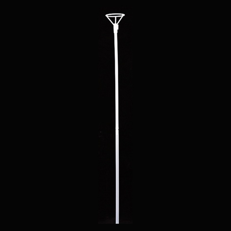 Transparent rod & support set long: 40+40cm diameter: 6cm