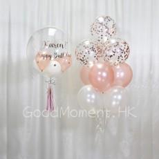 Customise crystal balloon