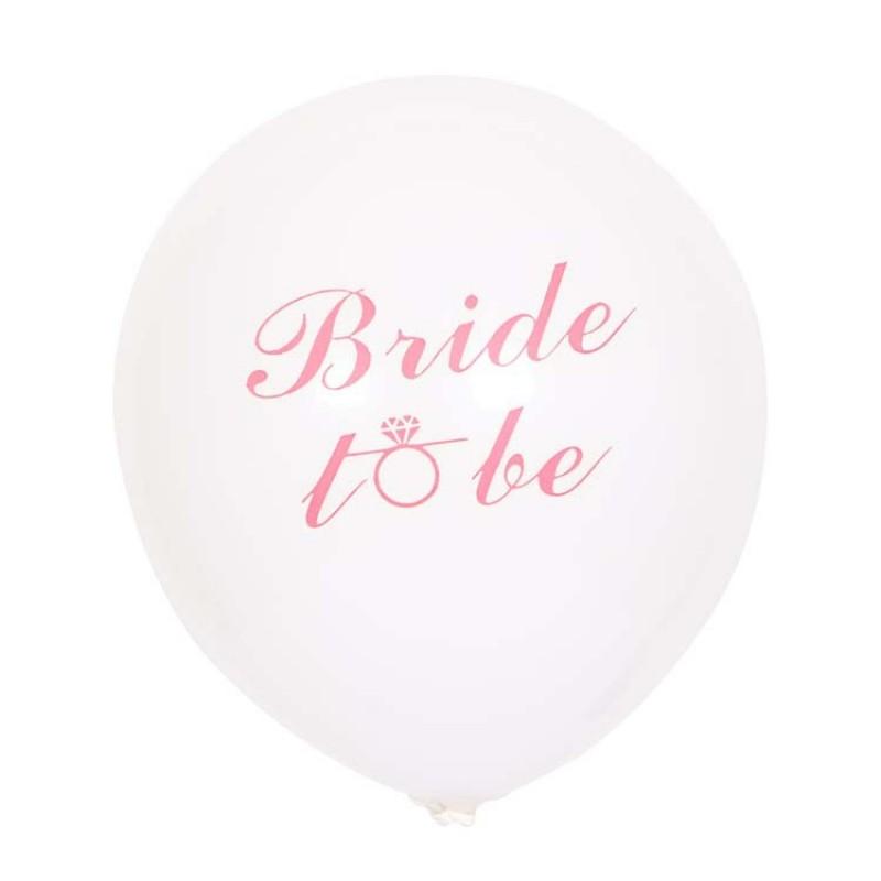 """10"""" latex balloon bride to be (10pcs/bag)"""