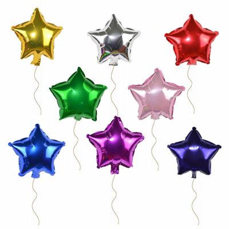 """10"""" Star Foil Balloon"""