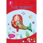 Mermaid Foil Balloon 65x57 cm