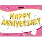 "16"" Happy Anniversary Foil Balloon Set"