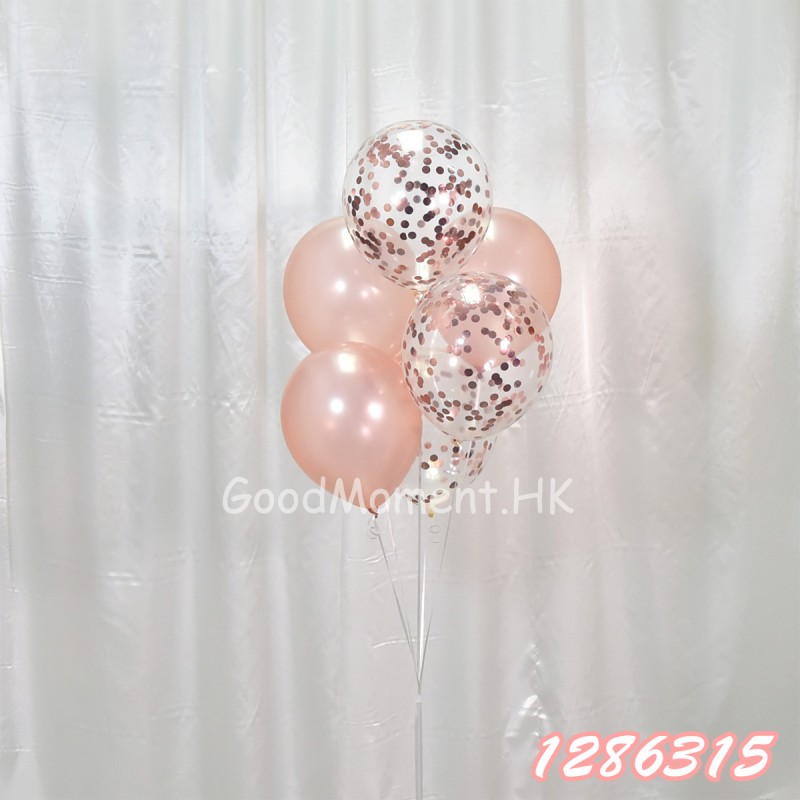 【Confession | Propose | Anniversary Crystal Balloon Customisation】24 inch Crystal Balloon print name & message (optional balloon bunch)