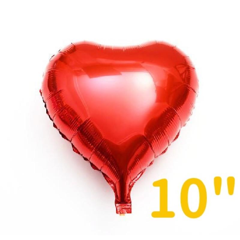 "10"" Heart Foil Balloon"