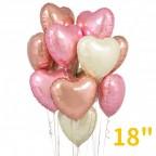 "18"" Heart Foil Balloon"