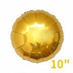 """10"""" Round Foil Balloon"""
