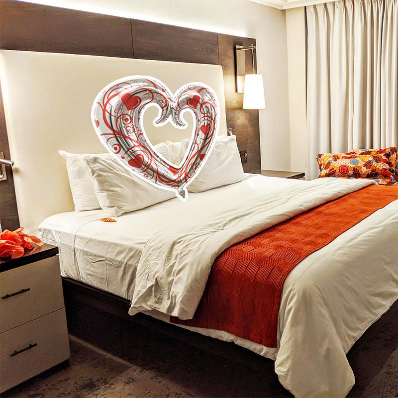 Heart Foil Balloon 108x90cm