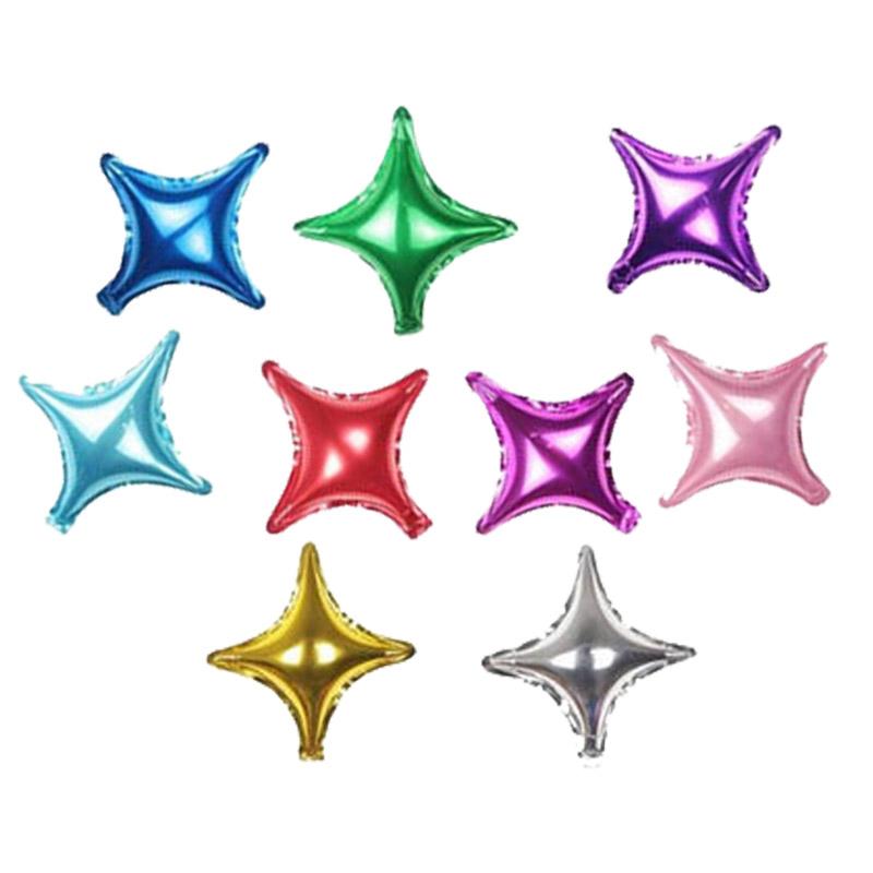 "10"" Cross Star Foil Balloon"