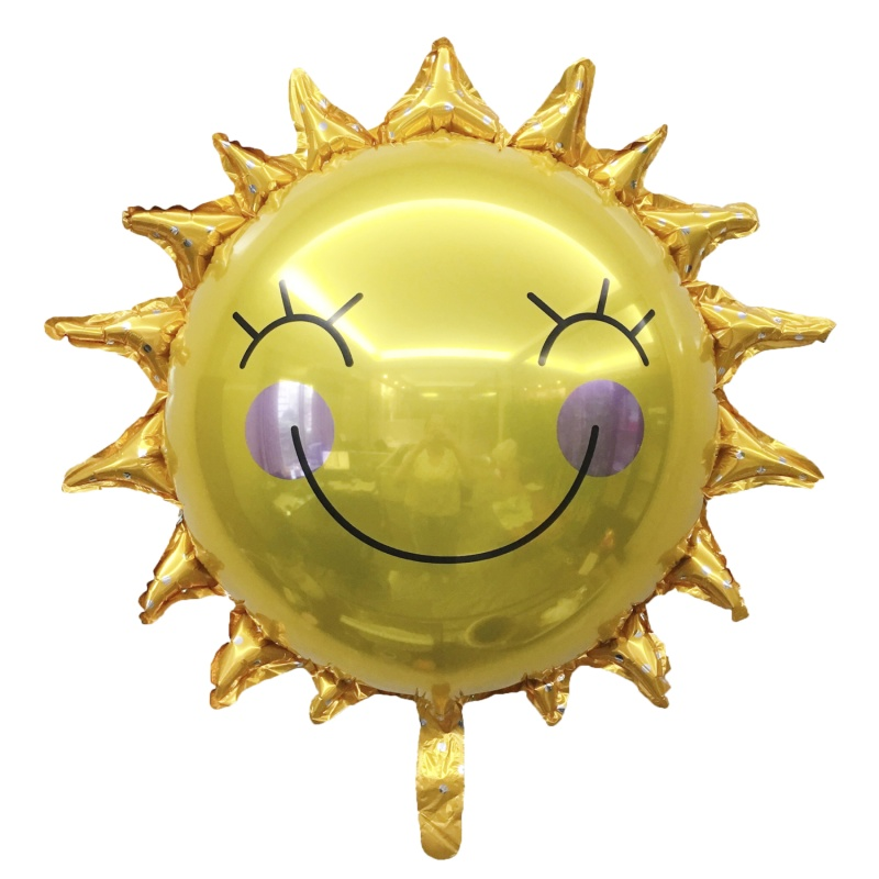 Similing Sun Foil Balloon 77x75cm
